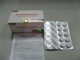 China Metronidazole Tablets 250MG 500M antibiotische BP-/USP-Medizin fournisseur