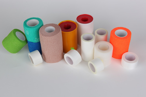 China Länge 10m des Zink-Oxid-Heftpflaster-medizinische Verband-Band-5m distributeur