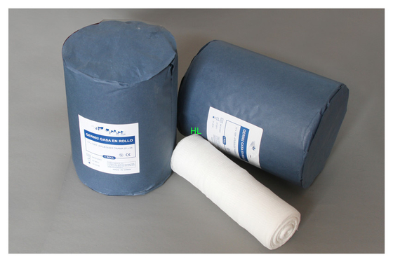 China 1ply, 2ply, medizinisches saugfähiges Verband-Rollenchirurgische Behandlung der Gaze-4ply distributeur